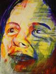 Sein, Acryl auf Papier, 50 x 65 cm, Susanna Schürch, 2010
