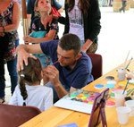 Atelier maquillage pour les enfants.