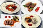 Concours de cuisine présidé par Jean-Luc Rocha chef doublement étoilé.