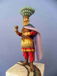 HERACLIUS (2) Empereur Byzantin - Figurine Plomb 75mm.