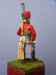 Trompette Chasseur à cheval de La Garde Impériale (2) - Figurine Plomb 54mm.