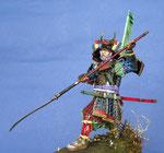 Samouraï (1) - Figurine Plomb 90 mm.