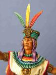 ATAHUALPA (2) dernier Empereur Inca - Figurine Plomb 75mm.