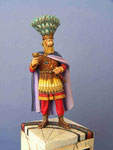 HERACLIUS (1) Empereur Byzantin - Figurine Plomb 75mm.