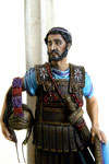 Philippe II de Macédoine - 382 - 336 av J.C -  Figurine Métal 75 mm. (1)