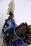 Hydeyoshi Toyotomi - 1536 - 1598 - Figurine Métal 75 mm. (1)