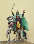 SALADIN - Figurine Plomb 90 mm.