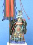 QUIN SHI HUANGDI   Premier Empereur de Chine  (6-C) - Figurine Plomb 75 mm.