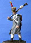 Voltigeur d'Infanterie - Trilport 28 et 29 mars 1814 (1) - Figurine Plomb 54 mm