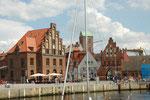 Im Hafen in Wismar