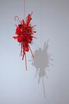 荒木 由香里「Red」2011 / ミクスドメディア / サイズ可変