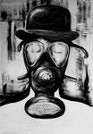 die maske - Acryl auf Leinwand/2007