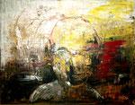 Spiegel - Acryl auf Leinwand/2014
