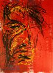 head no2 - Acryl auf Leinwand/2009