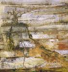 Har haSetim (Olivenberg) - Acryl auf Leinwand/2016