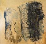 Moai - Acryl auf Leinwand/2015