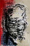 head no1 - Acryl auf Leinwand/2009