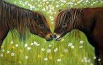 Mein Löwenzahn. Pastellkreide auf Pastell Card, ca. 19 x 29 cm, Fotovorlage Nicole Wolter, PMP