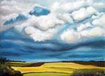 Sommer, Pastellkreide, ca. 30 x 40 cm, Fotovorlage: eigene