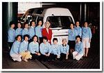 なんと寄贈いたしました福祉車両は、一昨年まで現役で活動しておりました。