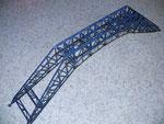 Bau der im Text erwähnten Stahlbrücke, Umbau aus einem Faller-Bausatz