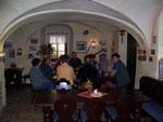 urig und gemütlich; Mittagessen in der Bergschmiede bei Frohnau