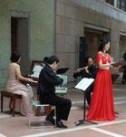 2011年8月7日(日) ガレリアコンサート 3         in 長久手町文化の家 アトリウム