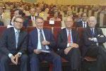 Dr. Andreas Freitag, Hans-Ulrich Klose, Dr. Peter von Förster, Ulrich von Oertzen (v.l.)