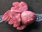 帯留め 金魚12