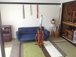 和室 お子さんを遊ばせながら紡いだり編んだりできます