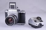 Pentacon Six, Rollfilmkamera, Baujahr Anfang der 1980er Jahre
