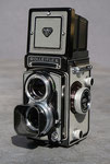 Rolleiflex T,  Rollfilmkamera, Baujahr 1960