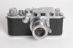 Leica IIIf, Kleinbildkamera, Baujahr 1951, derzeit meine Lieblingskamera Nr. 3