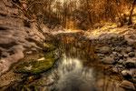 Inverno la neve sul Breggia (HDR) , Cabbio , Valle di Muggio , Ticino , Svizzera. Info; 3 foto unite in HDR + 1 filtro degradante 0.9 + filtro 10 stop , Nikon D3S + 24-70mm f2.8 a 24mm a f22 1/8 a ISO 100 + su cavalletto