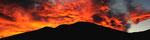 Tramonto sul Caviano in alta Valle di Muggio , Ticino , Svizzera.  Info; Nikon D3S + 24-70mm f2.8 Nikon a 24mm a f1