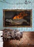 Hartmut Kiewert: *Why not*, 2012, Öl/Leinwand, 194 x 145 cm