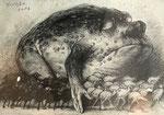Yongbo Zhao: *Ohne Titel*, 2017, Bleistift/Papier, 21 x 30 cm