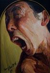 Yongbo Zhao: *Selbst*, 2008, Öl/Leinwand, 80 x 60 cm
