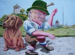 Michael von Cube: *Susie*, 2012, Öl/Leinwand, 100 x 140 cm