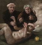 Pavel Feinstein: *N 1175*, 2007, Öl/Leinwand, 120 x 110 m