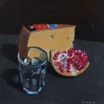 Pavel Feinstein: *N 1956*, 2014, Tempera/Hartfaser, 30 x 30 cm