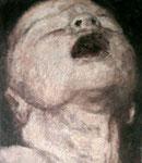 Heike Ruschmeyer: *Mein kleiner Bruder I*, 2003, Öl/Hartfaser, 70 x 50 cm