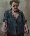 Pavel Feinstein: *N 1583*, 2012, Öl/Leinwand, 90 x 75 cm