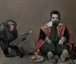 Pavel Feinstein *N 1499*, 2011, Öl/Leinwand, 130 x 150 cm