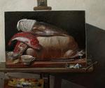 Pavel Feinstein: *N 2430*, 2019, Öl/Leinwand, 110 x 130 cm