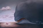Bruno Pontiroli: *Grandeur nature*, 2010, Öl/Leinwand, 130 x 195 cm