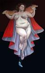 Lilli Hill: *Assunta*, 2008, Öl/Leinwand, 260 x 160 cm