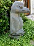 Bernard Matemera: *Big Bird*, ca. 1985, Serpentin, Höhe 140 cm