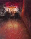Klaus Ritterbusch: *Ohne Titel 4,* 2003, Mischtechnik/Pressplatte, 50 x 40 cm