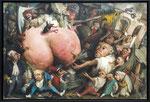 *Am Arsch der Geschichte*, 2017, Öl, Leinwand, 160 x 240 cm